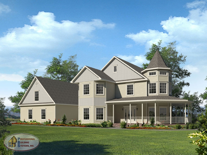charming 4000 sq ft modular homes #1: Devonshire Modular Home
